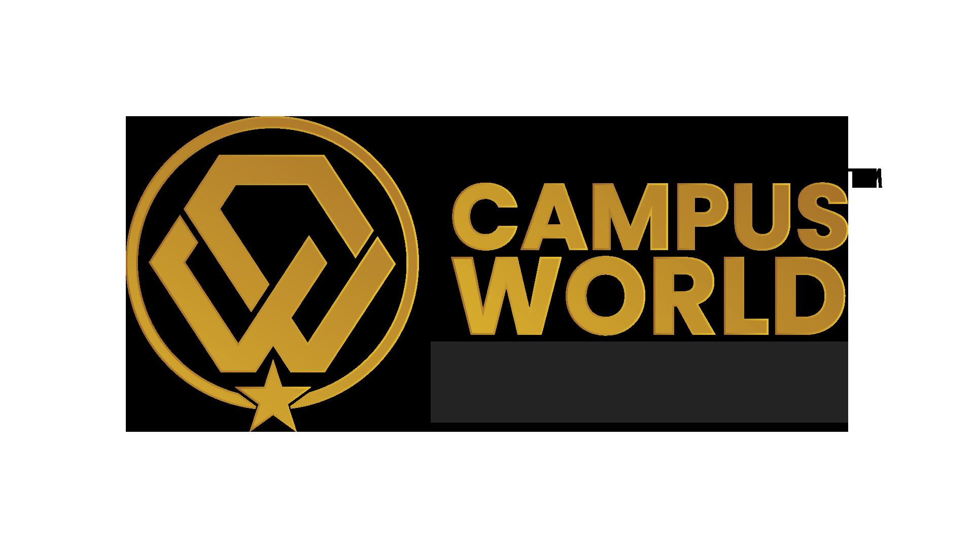 Campus World Logo-Gold